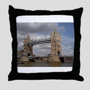 london england Throw Pillow