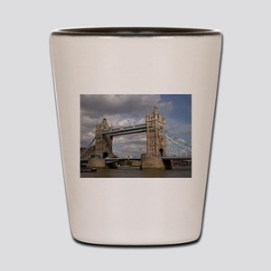london england Shot Glass