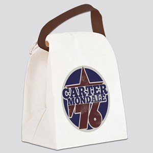Carter Mondale 1976  Canvas Lunch Bag
