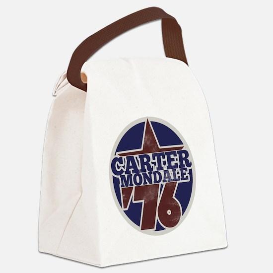 Carter Mondale 1976  Canvas Lunch Bag