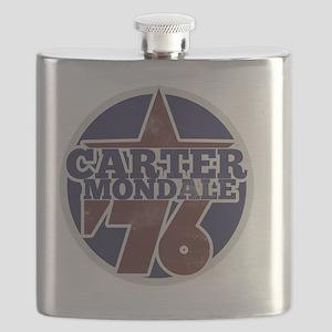 Carter Mondale 1976  Flask