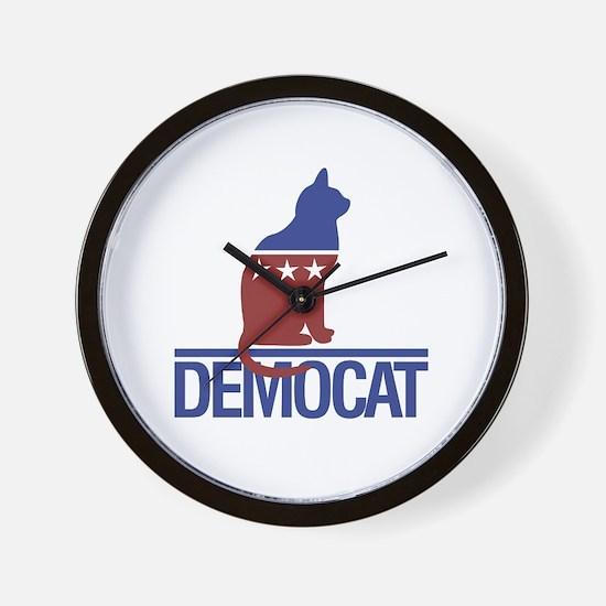 democat Wall Clock