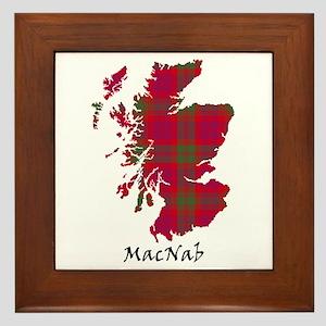 Map-MacNab Framed Tile