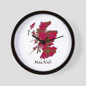Map-MacNab Wall Clock