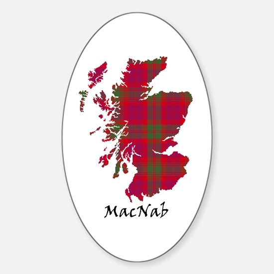 Map-MacNab Sticker (Oval)
