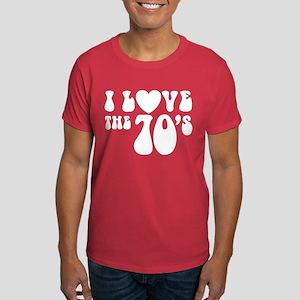 I Love the 70's Dark T-Shirt