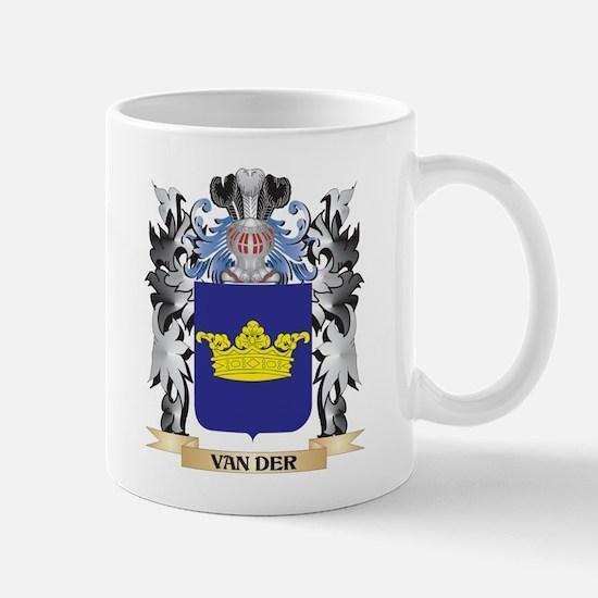 Van-Der Coat of Arms - Family Crest Mugs