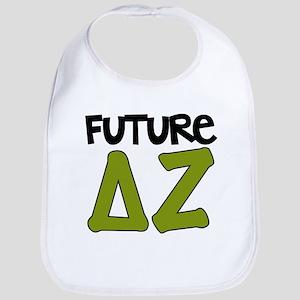 Delta Zeta Future Baby Bib