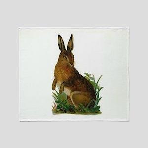 Hare Throw Blanket