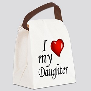 I love my Daughter Canvas Lunch Bag