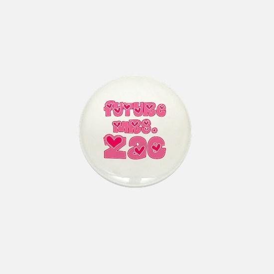 Future Mrs. Zac Mini Button