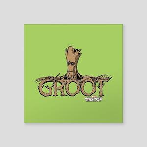 "GOTG Comic Groot Square Sticker 3"" x 3"""