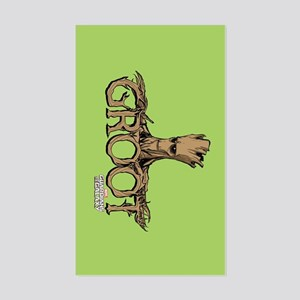 GOTG Comic Groot Sticker (Rectangle)