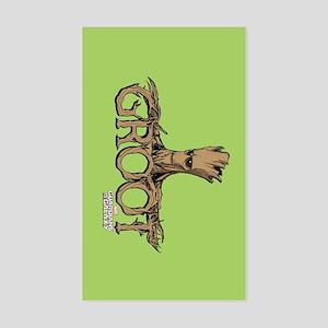 GOTG Comic Groot Sticker (Rectangle)