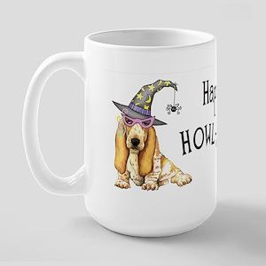 Halloween Basset Large Mug