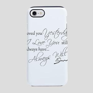 I love you iPhone 8/7 Tough Case