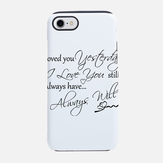 I love you iPhone 8/7 Tough Case