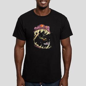 GOTG Comic Rocket Big Men's Fitted T-Shirt (dark)