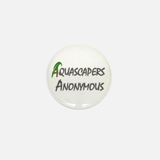 Aqua Anon Mini Button