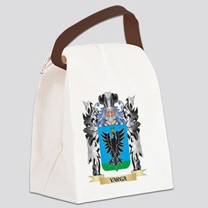 Varga Coat of Arms - Family Crest Canvas Lunch Bag