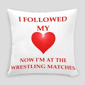wrestling Everyday Pillow