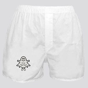 Lets Get Sheet Faced Boxer Shorts