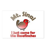I Just Came for the Rosefinches Postcards (8x)