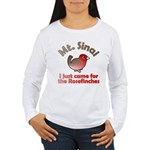 I Just Came for the Rosefinches Women's L/S Tee