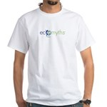 Ecomyths Logo White T-Shirt