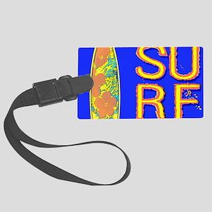 SURF CALIFORNIA EST 1850 Large Luggage Tag