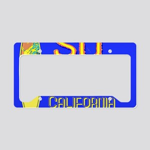 SURF CALIFORNIA EST 1850 License Plate Holder