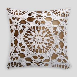 Doily Everyday Pillow