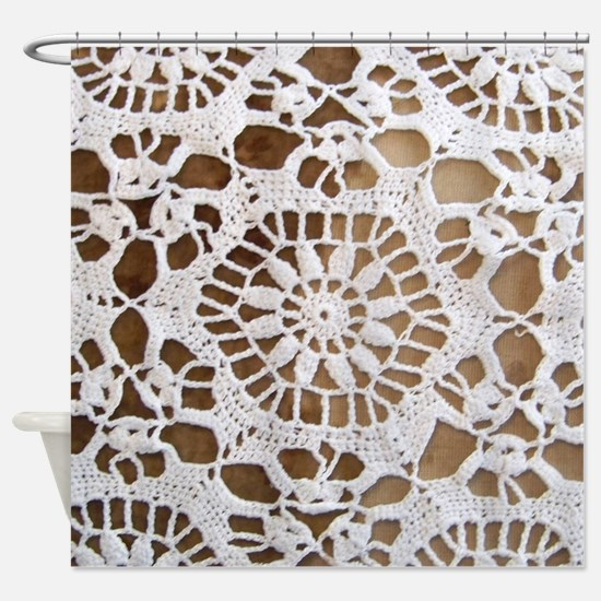 Doily Shower Curtain