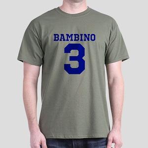 BAMBINO #3 - BABE RUTH Dark T-Shirt