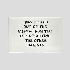 Mental Hospital Rectangle Magnet