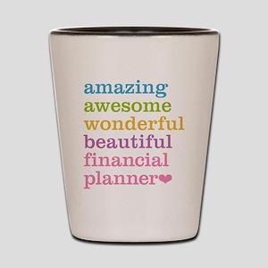 Amazing Financial Planner Shot Glass