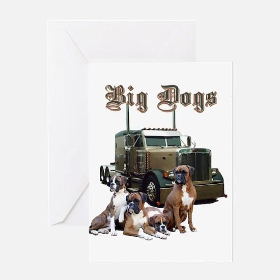 Big Dogs Greeting Card