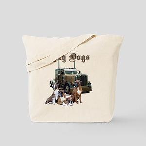 Big Dogs Tote Bag