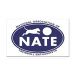 NATE logo Rectangle Car Magnet