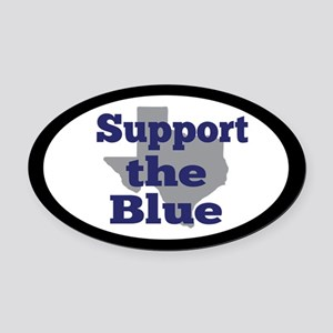 Support the Blue Oval Car Magnet