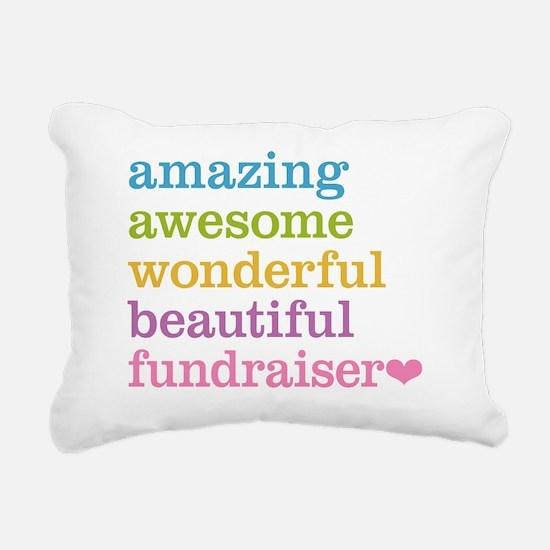 Amazing Fundraiser Rectangular Canvas Pillow
