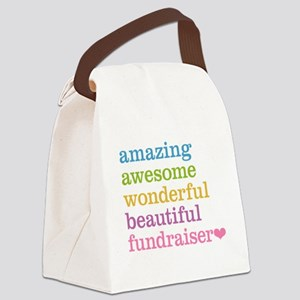 Amazing Fundraiser Canvas Lunch Bag