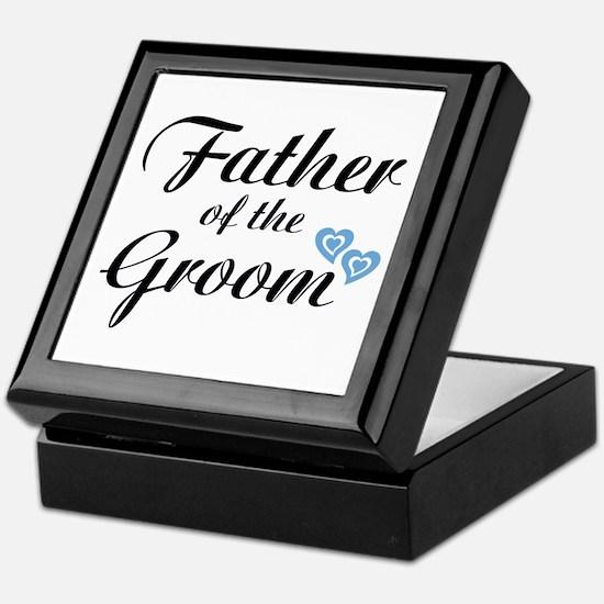 Father of the Groom Keepsake Box