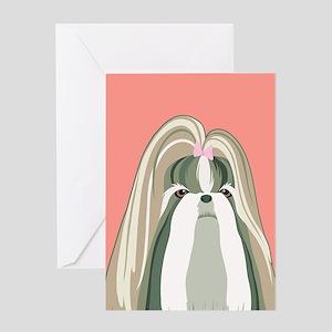 Shih Tzu Greeting Cards