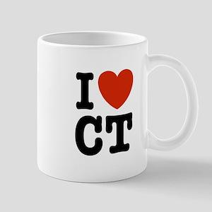 I Love CT Mug