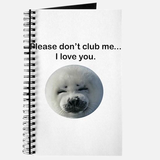 Don't Club Me Journal