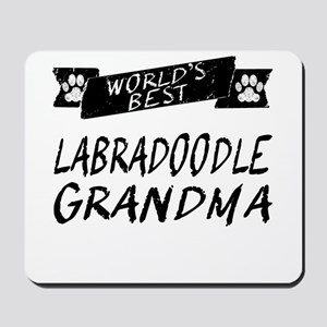 Worlds Best Labradoodle Grandma Mousepad