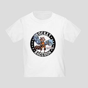 GOTG Comic Rocket Guns Toddler T-Shirt
