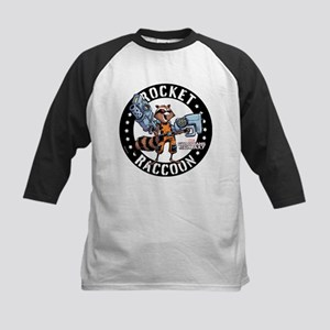 GOTG Comic Rocket Guns Kids Baseball Jersey
