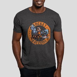 GOTG Comic Rocket Guns Dark T-Shirt